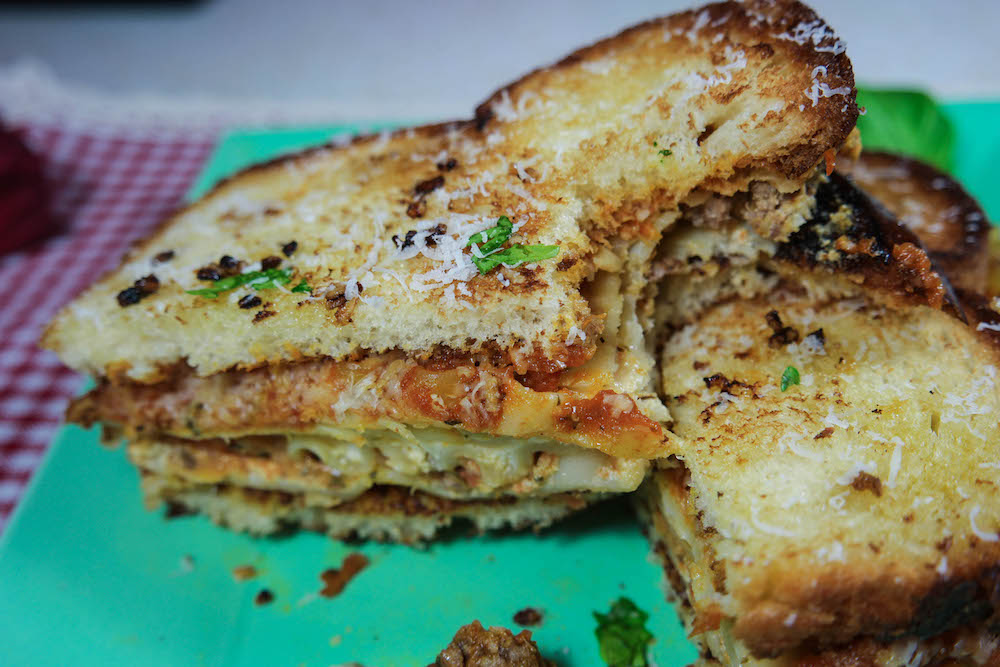 Lasagna Sandwich 4